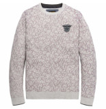 PME Legend Crewneck cotton mouline purple passion paars