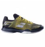Babolat Tennisschoen men jet mach ii clay dark yellow black geel