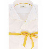 Seven Dials Overhemd formal yellow basic white wit