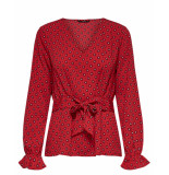 Only Blouse 15171903 onlvicky rood