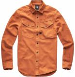 G-Star Army straight pkt shirt l\s bruin