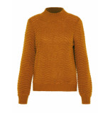Y.A.S Brentrice knit pullover bruin