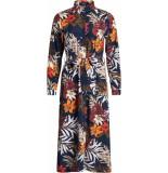 Sisters Point Eron -sh4 long dress blauw