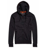 Superdry Urban athletic classic zip hood cardigan zwart