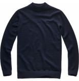 G-Star Core mock turtle knit l\s blauw