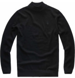 G-Star Core mock turtle knit l\s zwart