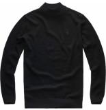 G-Star Core mock turtle knit l\s zwart