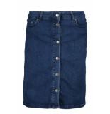 Saint Tropez Skirt denim u8013 510d med blue blauw