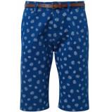 Tom Tailor Josh regular slim chinoshort 1007868xx10 18193 blauw
