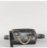 8 Other Reasons Contrast fanny pack zwart