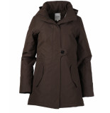 Elvine Coat 183507 fia bruin