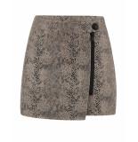Nikkie Rok n3-476 nancy skirt bruin