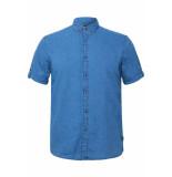 EDC Denim overhemd 069cc2f002 c903 blauw
