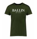 Ballin Est. 2013 Basic shirt groen