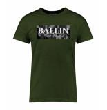 Ballin Est. 2013 Camo grey shirt groen