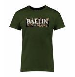 Ballin Est. 2013 Camo army shirt groen