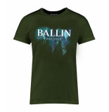 Ballin Est. 2013 Blue paint shirt groen