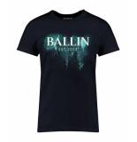 Ballin Est. 2013 Blue paint shirt blauw