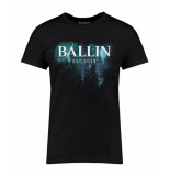 Ballin Est. 2013 Blue paint shirt zwart