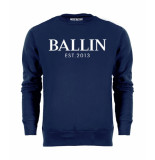 Ballin Est. 2013 Basic sweater blauw