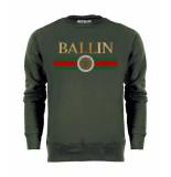 Ballin Est. 2013 Line small sweater groen