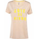 Summum 3s4288-30057 726 top short sleeve joie de vivre pebble