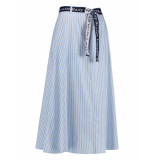 L.O.E.S. 20154 6110 loes face card skirt iceblue/white blauw