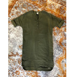 Penn & Ink S19w076 410 ny jurk linnen vera olive groen