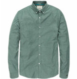 Cast Iron Csi188667 6051 long sleeve shirt comfort soft oxford wasabi groen