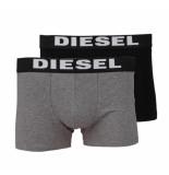 Diesel 2-pack boxers zwart