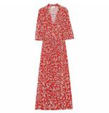 Grace & Mila Maxi jurk salty rood
