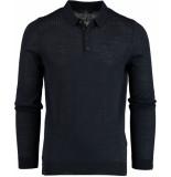 Vanguard Sleeve polo wool vkw195114/5287 blauw