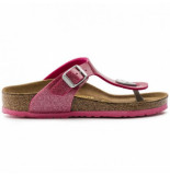 Birkenstock Slipper kids gizeh bf magic galaxy bright rose regular roze