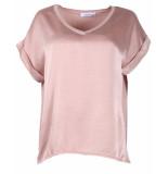 Ambika T-shirt silky top 63653 roze