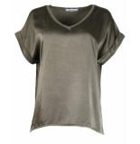 Ambika T-shirt silky top 63653 groen