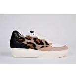 Högl Sneaker 10397 luipaard wit
