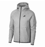 Nike Tech fleece hoodie grijs