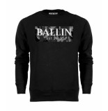 Ballin Est. 2013 Camo grey sweat zwart