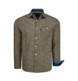 PME Legend Shirt stretch poplin bruin