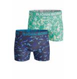 Bjorn Borg 2-pack boxers tropic leaves blauw