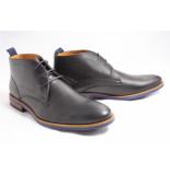 Van Lier 1955324-690 boots gekleed zwart