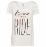 Summum 3s4293-30069 191 top short sleeve kiss and ride shell wit