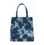 DIDI Shopper met all-over patroon blauw