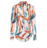 DIDI Basis blouse met print roze