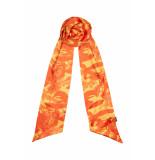 DIDI Smalle sjaal met all-over print geel