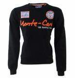 Geographical Norway Heren sweater monte carlo ronde hals folo zwart