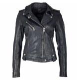 Gipsy Famos leather jacket zwart