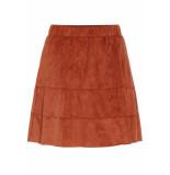 Noisy may Nmlauren skirt color 27003490 tandori spice cognac