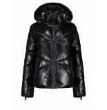 Nikkie Rae puffer jas – zwart