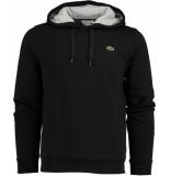 Lacoste Sweater met capuchon sh18/snp zwart